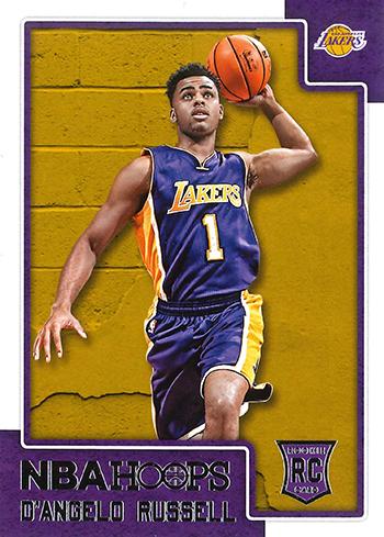 2015-16 NBA Hoops 265 D'Angelo Russell