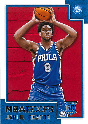 2015-16 NBA Hoops 280 Jahlil Okafor