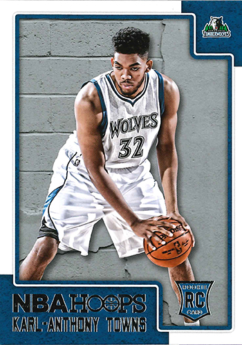 2015-16 NBA Hoops 289 Karl-Anthony Towns