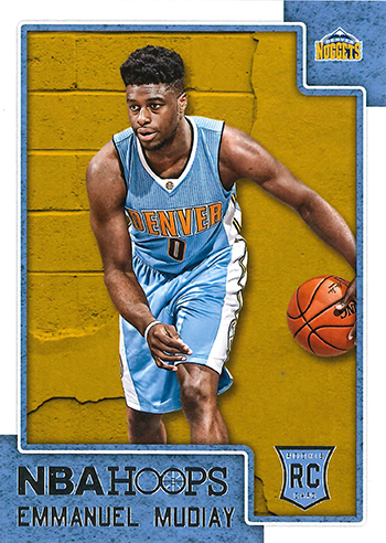 2015-16 NBA Hoops 294 Emmanuel Mudiay
