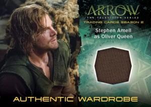 2015 Cryptozoic Arrow Season 2 Wardrobe