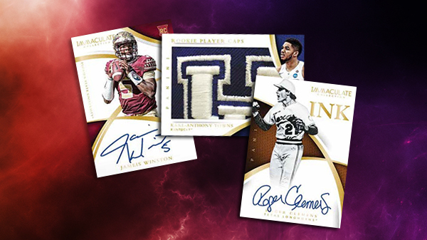 2015 Panini Immaculate Collection College Multi-Sport Header