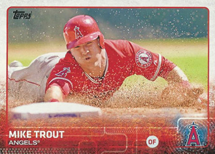 2015 T 300 Mike Trout