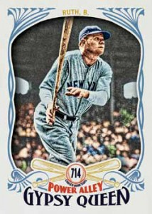 2016 Topps Gypsy Queen Baseball Power Alley Babe Ruth