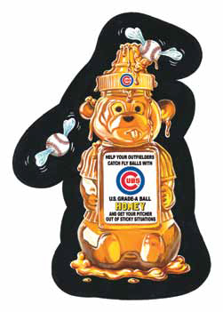 2016 Topps MLB Wacky Packages Cubs