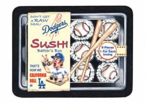 2016 Topps MLB Wacky Packages Dodgers