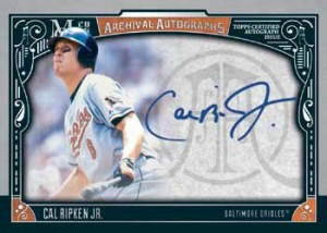 2016 Topps Museum Collection Baseball Archival Autographs
