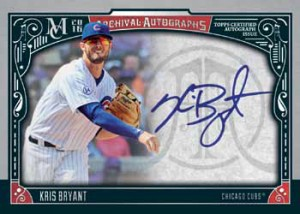 2016 Topps Museum Collection Baseball Archival Autographs Red