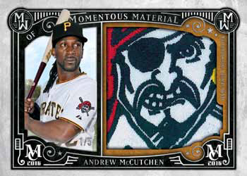 2016 Topps Museum Collection Baseball Momentous Material