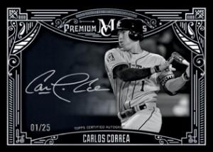 2016 Topps Museum Collection Baseball Premium Prints Autographs