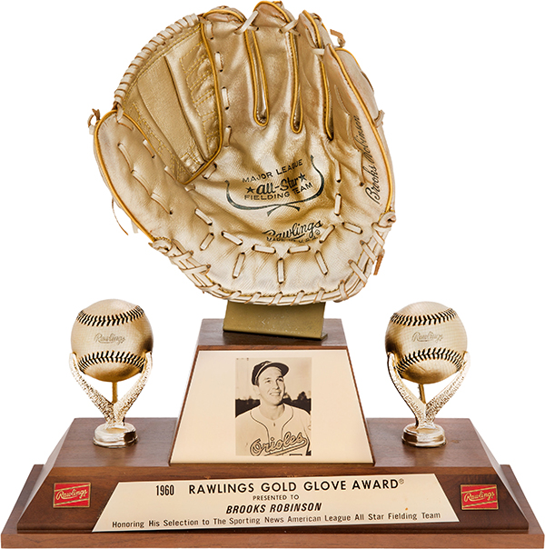 Brooks Robinson - 1960 Gold Glove Award