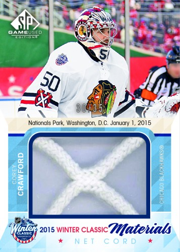 2015-16 Upper Deck SP Game-Used Crawford