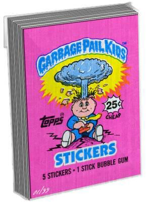 Garbage Pail Kids Original Series Wrapper Art Metal Cards