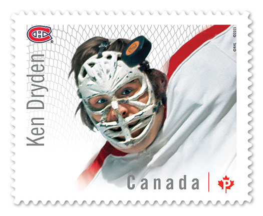 Canada Post Ken Dryden stamp