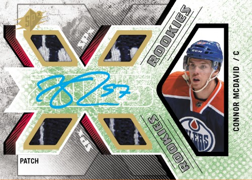 2015-16 Upper Deck SPx Hockey McDavid