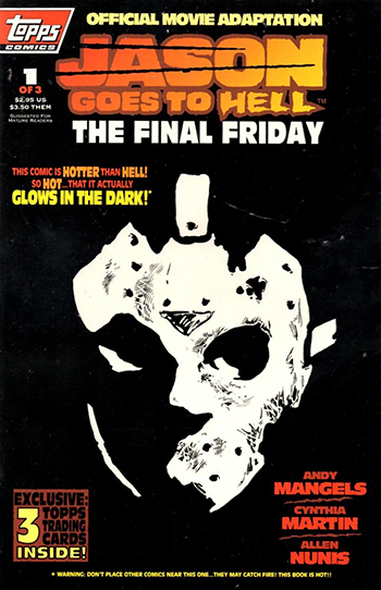 1993 Topps Friday the 13th Comic 1