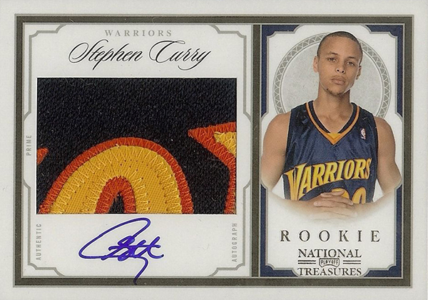 115c3447c94 2009-10 Playoff National Treasures Stephen Curry Rookie Card