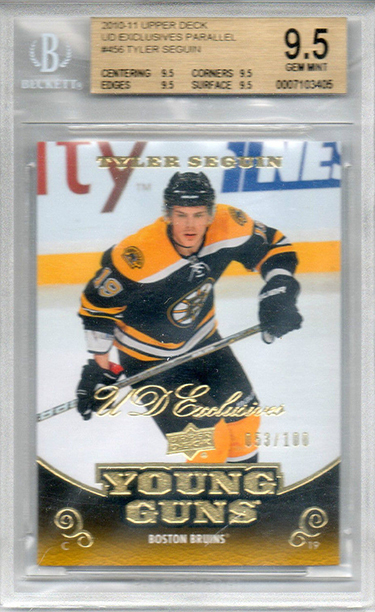 2010-11 UD YG Exclusives Tyler Seguin