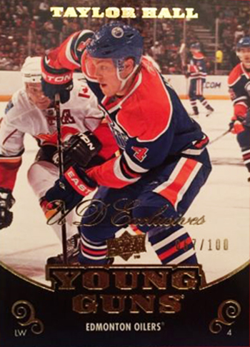 2010-11 UD YG Taylor Hall Exclusives