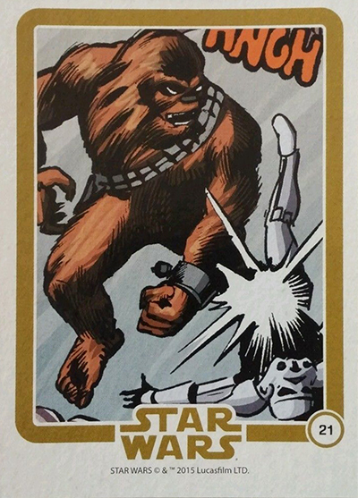 2015 IDW Star Wars Micro Comics 21 Chewbacca