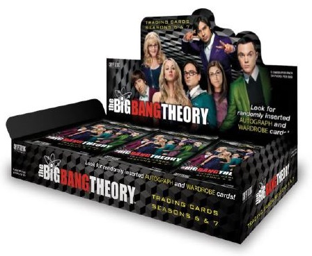 2016 Cryptozoic Big Bang Theory Seasons 6 and 7 Box