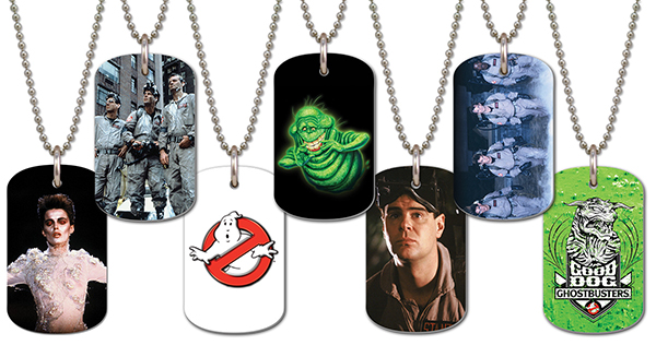 2016 Cryptozoic Ghostbusters Dog Tags B