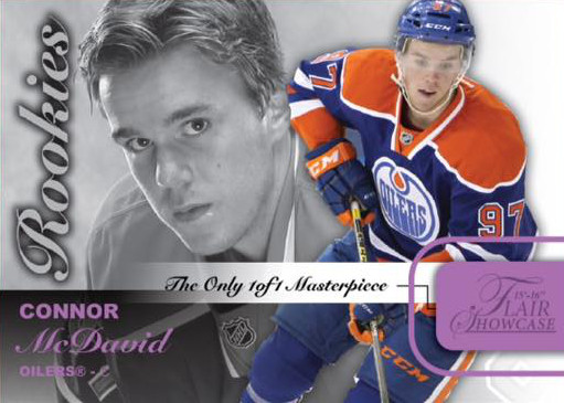 2015-16 Fleer Showcase Hockey McDavid
