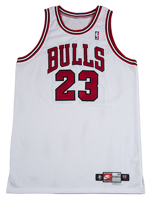 Michael Jordan Final Chicago Bulls Regular Season Game-Used Jersey