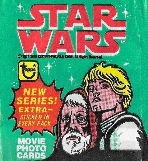 1977 Topps Star Wars Series 4 Wrapper header