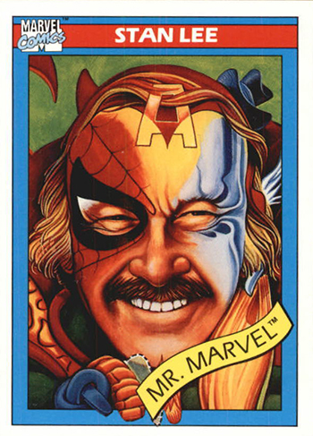 1990 Impel Marvel Universe Stan Lee