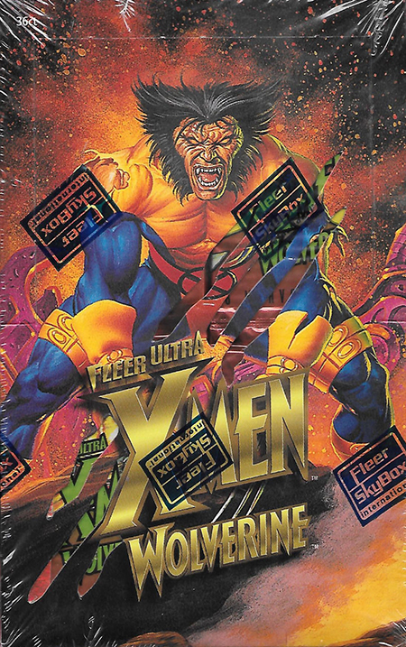 1996 X-Men Ultra Wolverine Box