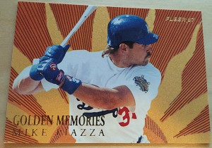 1997 Fleer Golden Memories Mike Piazza