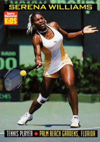 1999 Sports Illustrated for Kids Serena Williams 814