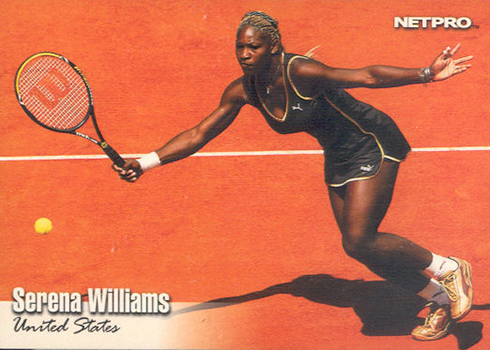 2003 NetPro Glossy Serena Williams