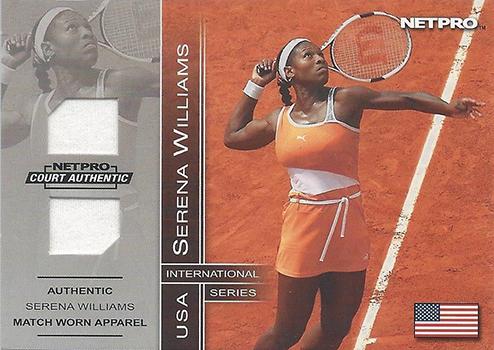 2003 NetPro Serena Williams Memorabilia 500