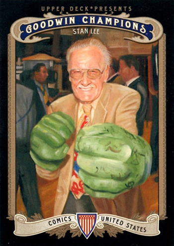 2012 Upper Deck Goodwin Champions Stan Lee
