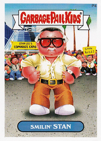 2014 Garbage Pail Kids Series 2 P4 Smilin Stan