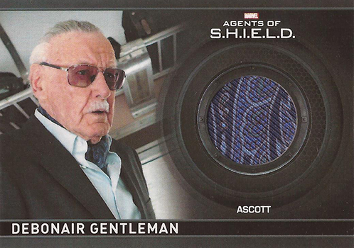 2015 Marvel Agents of SHIELD Season 1 CC18 Stan Lee Costume Card