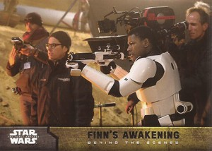 2015 Topps SW TFA Behind the Scenes