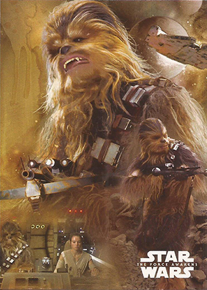 2015 Topps SW TFA Character Montage