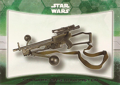 2015 Topps SW TFA Weapons