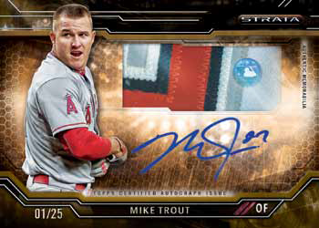 2015 Topps Strata Baseball Checklist - Clearly Authentic Autograph Relic