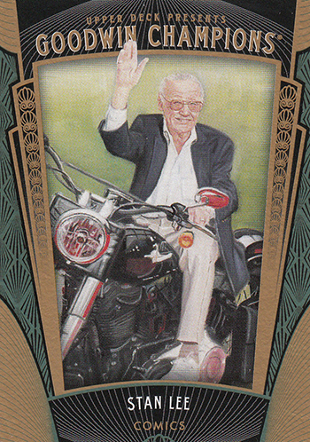 2015 Upper Deck Goodwin Champions Stan Lee