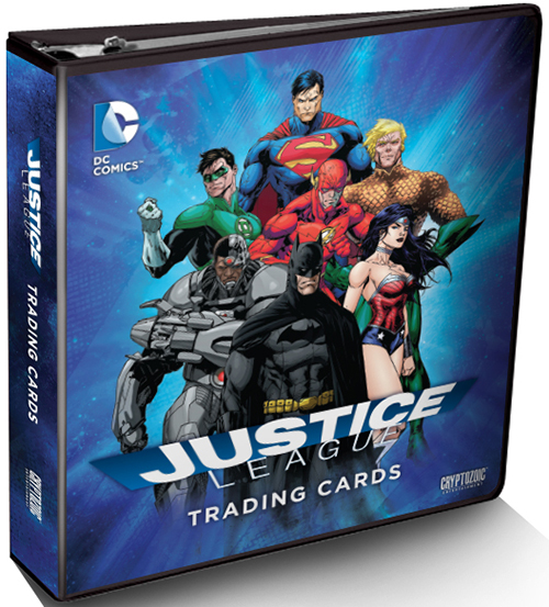 2016 Cryptozoic Justice League Binder