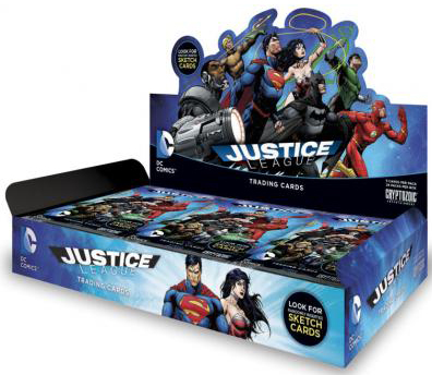 2016 Cryptozoic Justice League Box