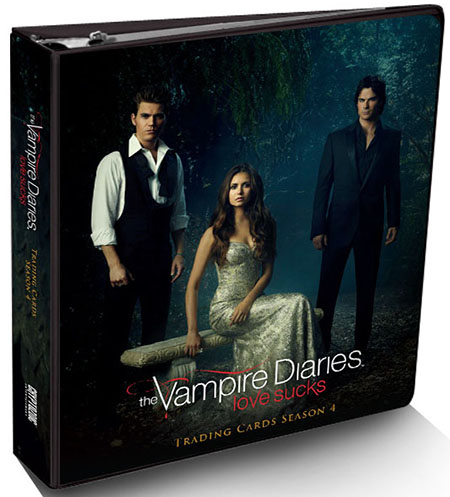 2016 Cryptozoic Vampire Diaries Season 4 Binder