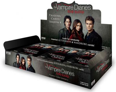 2016 Cryptozoic Vampire Diaries Season 4 Box