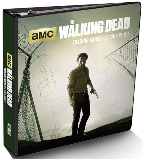 2016 Cryptozoic Walking Dead Season 4 Part 2 Binder