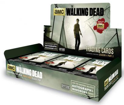 2016 Cryptozoic Walking Dead Season 4 Part 2 Box