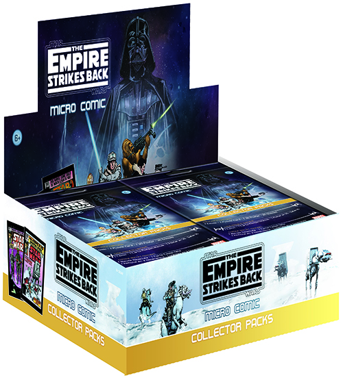 2016 IDW Empire Strikes Back Micro Comic Collector Packs Box